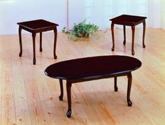 Fancy Coffee Table Set 89 Cherry Wood Oval Tables Coffe