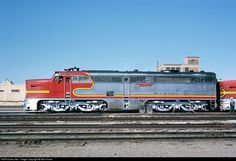 RailPictures.Net Photo: ATSF 56L Atchison, Topeka & Santa Fe (ATSF) Alco PA-1 at Amarillo, Texas by Bob Krone