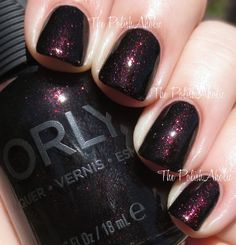 The PolishAholic: Orly Fall 2014 Smoky Collection Swatches & Review