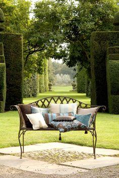 Mediterranean homes – Mediterranean Home Decor Garden Seating, Outdoor Seating, Outdoor Sofa, Outdoor Spaces, Outdoor Living, Outdoor Furniture Sets, Outdoor Decor, Patio, Backyard