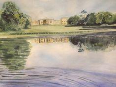 Over the lake at Stowe School by Miranda Markham