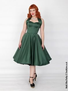 1950s party dress/circle skirt