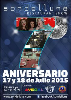 Celebra el séptimo aniversario de Sondelluna