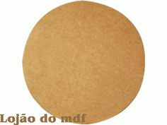 Disco mdf redondo  - cod:DESC008-2-Tamanho 36D 6mm espessura