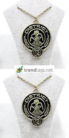 The Hunger Games - Necklace - District 12 - Peeta - FREE WorldWide Shipping on { trendtags.net }   #JuegosDelHambre #Sinsajo #LJDH #Katniss