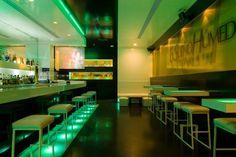 El Sueno Humedo Lounge Bar by Ivan Cotado - Modern Homes Interior Design and Decorating Ideas on Decodir