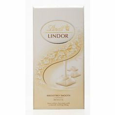 Lindt Lindor White Chocolate 100g