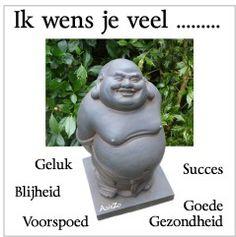 Het verhaal gaat dat het geven van een Buddha de ontvanger ervan geluk brengt.
