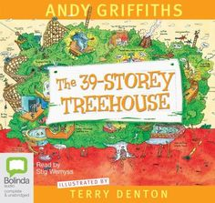 The 39 Storey Treehouse Audio book by Andy Griffiths | Angus & Robertson Bookworld | Audio Books