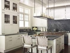 White Cool Kitchen