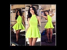DIY halter Summer Dress