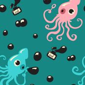 Inky Squid Bubbles