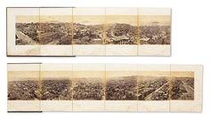 Edwaerd Muybridge, Panorama de San Fransisco pris de California Street, publié en 1977 - Installé à San Fransisco, Muybridge se spécialise dans les paysages et les vues urbaines. Modern Photography, Image Photography, San Fransisco, Eadweard Muybridge, Madison Avenue, Photos, Pictures, Panorama, California