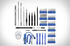 iFixit Pro Tech Tool Kit - I actually have this kit. Works for all my gadget repair jobs