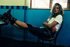 Kate Moss by  Craig McDean for W Magazine June 2004 5