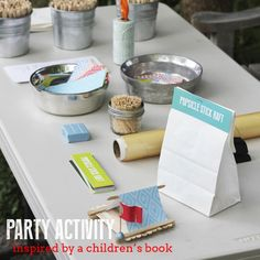 One Charming Party   Birthday Party Ideas › Mad Scientist Party