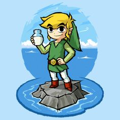 Zelda Wind Waker : Bottle of Milk