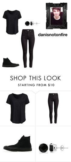 """""""danisnotonfire"""" by fashion-freak-89 ❤ liked on Polyvore featuring New Look, Converse, Allurez and danisnotonfire"""