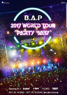 "Rosalie & Violetta: Concert Diary B.A.P 2017 World Tour ""Party Baby""  #bap #kpop #concert #partybaby #baby #matoki #shishimato #dadamato #totomato #tatsmato #jokomato #kekemato #yongguk #zelo #himchan #jongup #yongjae       #daehyun #music #tour"