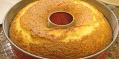 bolo sem ovo(suco de laranja, oleo, açucar, sal, farinha de arroz, fermento, farinha de linhaça)