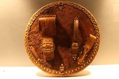The Walker Targe | Highland Targe | Scottish Targes & Celtic Leatherwork
