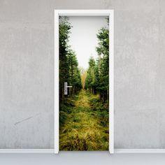 """Hello, wild ones! Für euch gibt's das Design """"Green Alley""""! #tuer #tuerfolie #door #nature #green #design"""