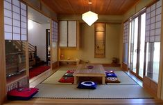 This versatile 7 tatami-mat traditional Japanese room (nihoma) can serve as a guest room, a dining room, and a family room. See it on our site. #familyroomdesignboard