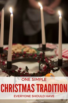 One Simple Christmas Tradition everyone should have. This tradition will help your family slow down and enjoy the simple joys of Christmas. Click through for all the details!