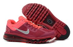 Nike Air Max 2013 Noble Red Atomic Pink Women\\u0026#39;s Shoes