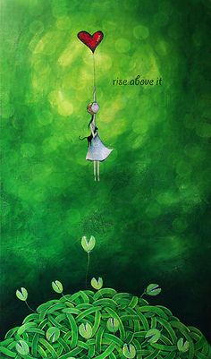 Rise above it by Amanda  Cass