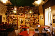 Cafe - U chlupatýho ducha, Prague (transtalation: At the hairy ghost)