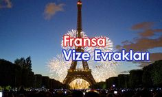 Fransa vizesi için gerekli evraklar. Tower, Neon Signs, Building, Travel, Canada, America, Rook, Viajes, Computer Case