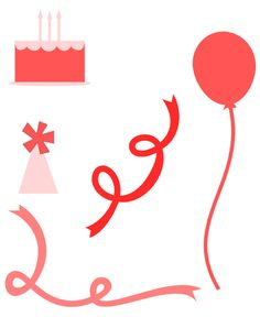 Paper, Scissors, Ink.: Happy Birthday banner card and Birthday svg