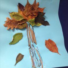 Verschiedene Blätter zum Thema Herbst