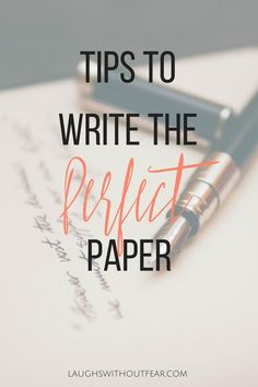 Having excellent writing skills in college is something that will make your academic career much easier!  With finals around the corner, take a few minutes to read these tips to write the perfect paper.  These are things that apply to everything from narratives to research essays.  We all want to improve our writing skills!