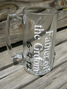 Father of the Groom mug by osewcutedesigns on Etsy, $11.00