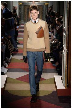 Valentino Men Fall Winter 2015. Love that sweater