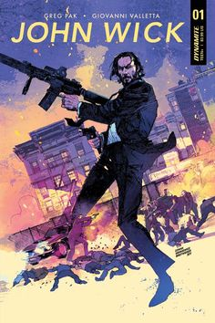 Original Movie poster Illustration for John Wick Chapter 2 ! drawn by Denys Cowan Inks Bill Sienkiewicz colors Elizabeth Breitweiser Marvel Movie Posters, Original Movie Posters, Movie Poster Art, Marvel Movies, Poster Poster, Original Artwork, Baba Yaga, Comic Books Art, Comic Art