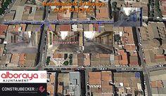 El inicio de la #obra de #Reurbanización de #Alboraya comienza por la calle Sant Pancraci por ser considerada la que ofrecia mayor complejidad.