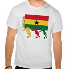 Shop Soccer Ghana T-Shirt created by nitsupak. Soccer Gifts, Ghana, Fitness Models, Football, Unisex, Tees, Amazing, Casual, Sleeves