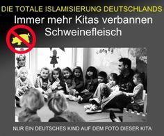""". Berliner Kindestagesstätten: Zu feige, den wahren Grund für die Verbannung des Schweinefleischs vom Speisezettel zu nennen Die offizielle Erklärung der """"Kindertagesstätten Berlin Südwest"""" für die…"""