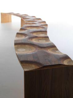 Originelle Form Gartenbank Holz Minimalistisch | Wood | Pinterest | Dna