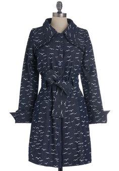 {Flock of the Bay trench coat} in love with this trench! via ModCloth