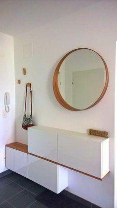 Home Decor Ideas - - Interior Design Inspiration, Home Interior Design, Ikea Living Room, Condo Decorating, Ikea Bathroom, Interior Garden, Little Houses, Sweet Home, Room Decor