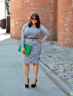 Yay for plus-sized fashionistas!