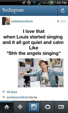 Haha! Louis' voice in the video is perfect♡♡♡