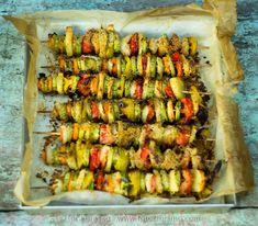 spiedini di verdure - Vegetable Skewers