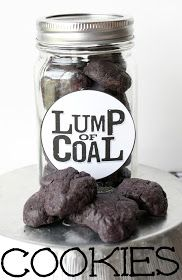 MBC: Munchkin Munchies - Lump of Coal Cookies and other fab ideas