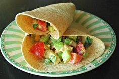 Easy tandoori chicken wraps recipe