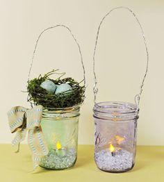 D.I.Y. Mason Jar Lantern